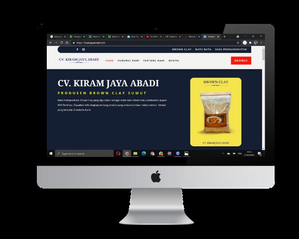 desain for website profile company