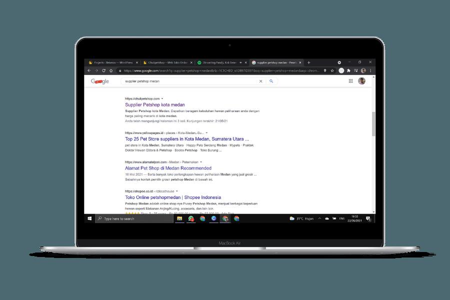 chulipetshop no 1 google