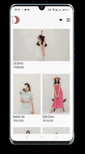 buat website daphne clothing for girls