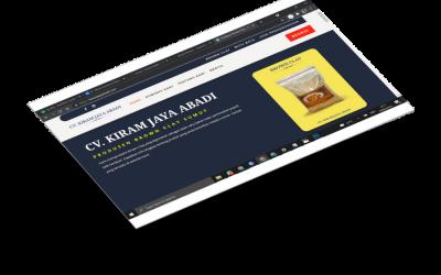 website profile cv kiram jaya abadi