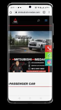buat website sales mitsubishi