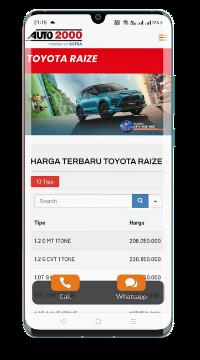 website sales toyota auto2000